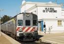 Bloco promove ação em defesa do serviço público ferroviário