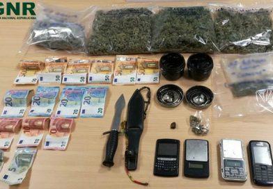 Turista detido por tráfico de droga