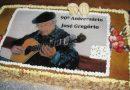 Parchal em festa na celebração dos 90 anos de idade do guitarrista José Gregório