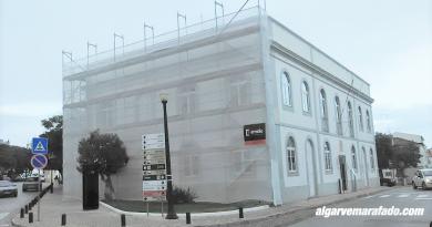 Obras no antigo edifício da Câmara de Lagoa