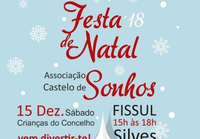 Castelo de sonhos realiza festa de Natal