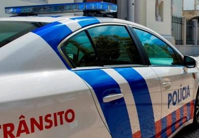 PSP detém homem que conduzia sem carta há 10 anos