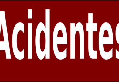 Homem ferido em acidente