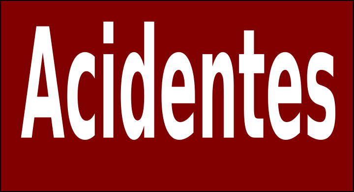 Jovem ferido em acidente