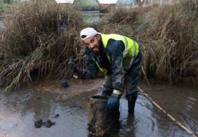 Silves limpa o rio Arade