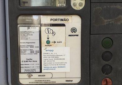 EMARP passou a gerir 400 lugares de estacionamento em Portimão