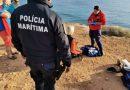 Turista alemã fica ferida em queda