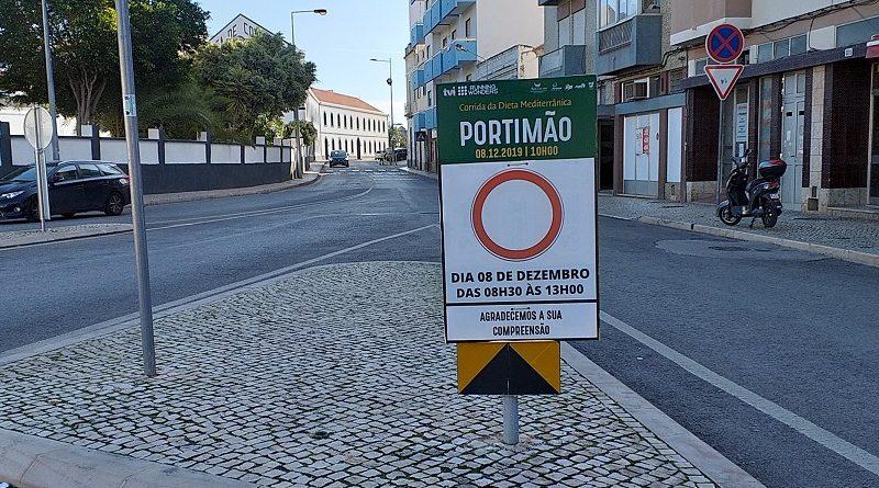 Veja quais são as ruas de Portimão que vão estar cortadas ou condicionadas