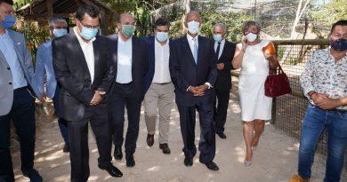 Marcelo Rebelo de Sousa visitou o concelho de Lagos
