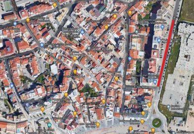 Circulação condicionada em avenida de Armação de Pêra
